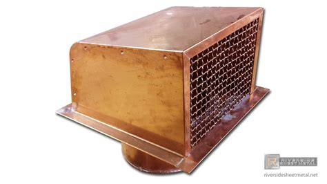 Copper Dryer Vent With Round Outlet J And B Roofing Mn Capstone Santa Rosa Ca Warren Flat Roof Materials Tpo Calculator Translucent For Patio Putting Tar Paper On Wet Cloud Dallas Reviews