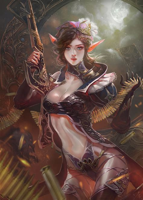 The Beautiful Fantasy Art of Xiao Botong | Purple Thunder