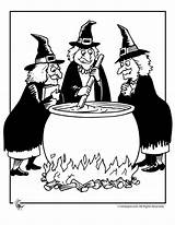 Witch Halloween Witches Cauldron Coloring Google Printable Brujas Printer Send Button Special Wizards Cooking sketch template