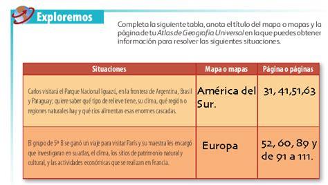 Libro de geografía 5 grado contestado pagina 96. Paginas Del Libro De Geografia 6 Grado Contestado   Libro Gratis