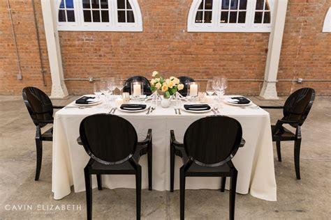 wedding tables and chairs chic wedding inspiration at brick w cavin elizabeth