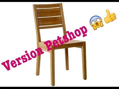 fabriquer une chaise tuto comment faire une chaise lps fr