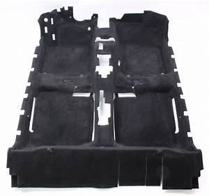 Genuine Vw Black Floor Carpet Vw Beetle 98
