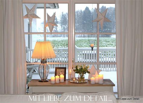 wohnzimmer weihnachtlich dekorieren mit liebe zum detail so ist es gem 252 tlich saisonale dekoration fensterbank dekorieren
