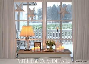 Fensterbank Weihnachtlich Dekorieren : mit liebe zum detail so ist es gem tlich winter ~ Lizthompson.info Haus und Dekorationen