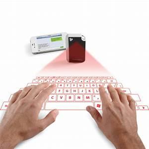 Keychain Laser Projection Virtual Keyboard
