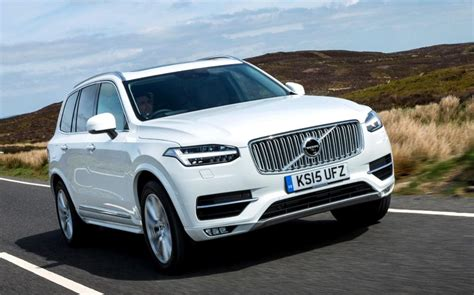 volvo vehicles volvo xc90 t8 plug in hybrid driven the rough with the smooth