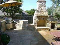 Outdoor Kitchens And Fireplaces by Outdoor Fireplace DH Landscape Design Blog