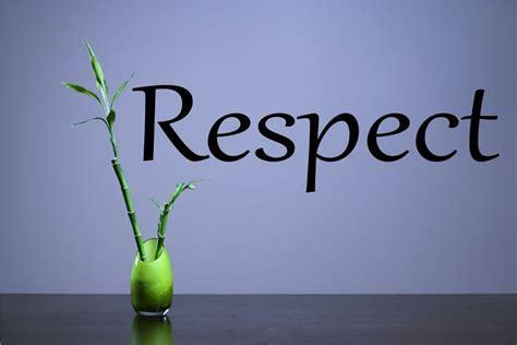 Respect Vinyl Wall Art Decal Sticker
