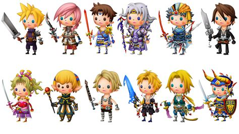 Theatrhythm Curtain Call Best Characters by Theatrhythm Curtain Call Hints At Western