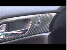 Honda accord 2013 interior carbon fiber YouTube