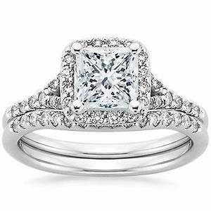 platinum harmony diamond ring matched set from brilliant With brilliant earth wedding ring sets