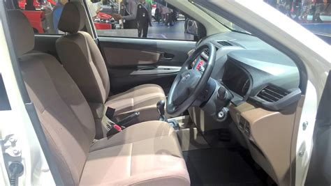 toyota avanza limited edition front cabin 2017 giias live