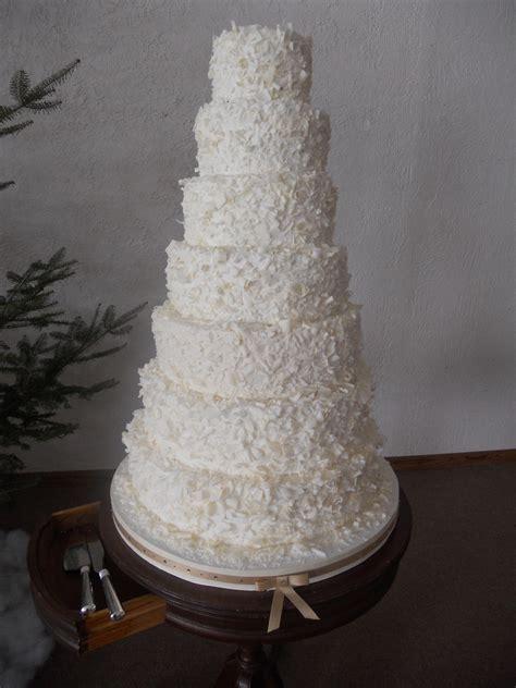 tiered wedding cake cakecentralcom