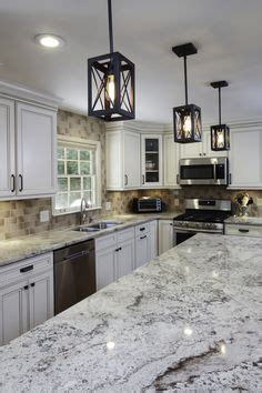 kitchen tile ideas pictures island and perimeters counters in solarius granite with 6270