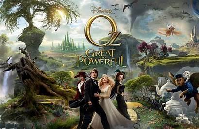 Oz Powerful Film Poster Wizard Land Banner