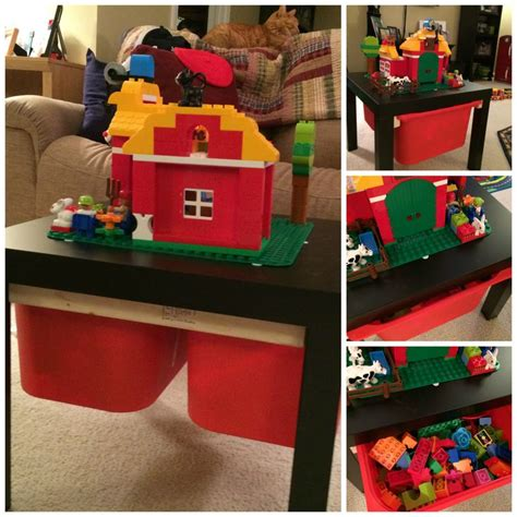 1000+ Images About Ikea Lack Lego Table Hack On Pinterest