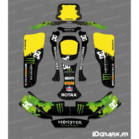 kit deco f1 series mac laren for karting crg rotax 125 idgrafix