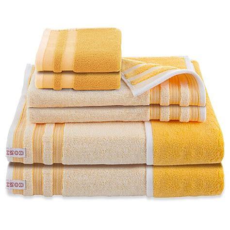 izod oxford reversible bath towels set   bed bath