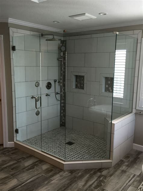 neo angle glass showers ad glass mirror