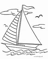 Boat Coloring Pages Fishing Sailing Drawing Boats Sailboat Ship Kidsplaycolor Kid Printable Sheets Play Getdrawings Christmas sketch template