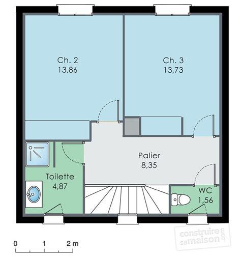 plan maison etage 2 chambres maison spacieuse dé du plan de maison spacieuse