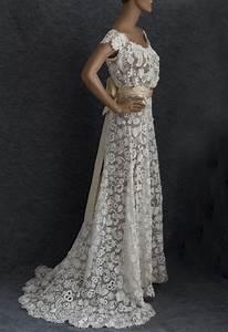 best crochet lace dress ideas on pinterest crochet petite With crochet lace wedding dress