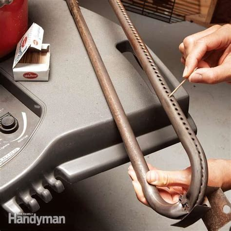 tune   outdoor gas grill  family handyman