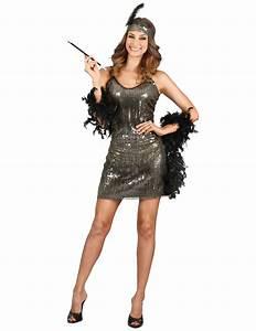 20er Jahre Outfit Damen : 20er jahre charleston kost m f r damen silber kost me f r erwachsene und g nstige ~ Frokenaadalensverden.com Haus und Dekorationen