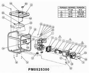 Powermate Formerly Coleman Pm0525300 Parts Diagram For