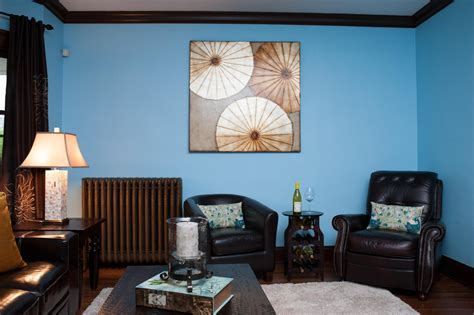 Incredible Blue Living Room Wall Paint Ideas Combine With
