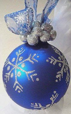 1000 images about royal blue christmas ornaments on