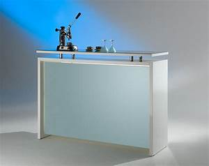 Bar theke hochglanz in weiss ebay for Theke bar