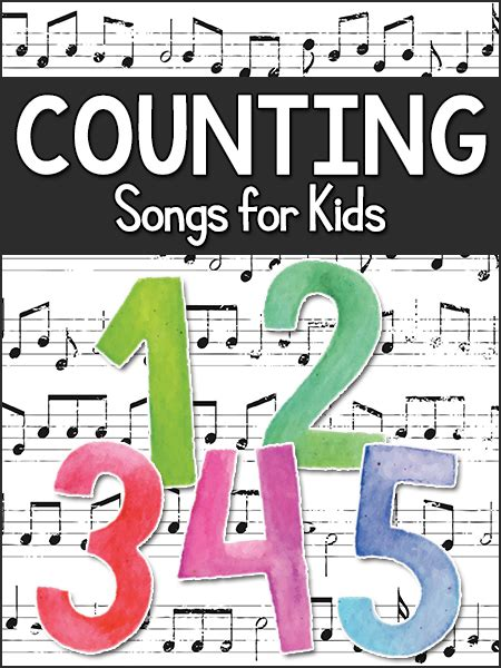 counting songs for prekinders 807 | counting songs 1