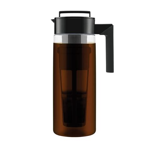 If you know me, you know that i'm never without a cup of cold brew coffee in my hand — even in the fall and winter. Takeya Deluxe Cold Brew Iced Coffee Maker for $17.99 - cheapskat