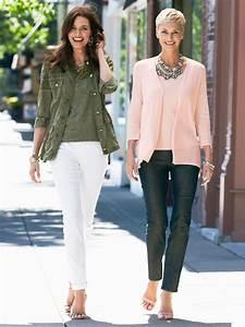Vetement Femme 50 Ans Tendance : i like the black pants and both tops dia style ideas ~ Melissatoandfro.com Idées de Décoration
