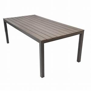 Table De Jardin En Aluminium : table de jardin aluminium les bons plans de micromonde ~ Teatrodelosmanantiales.com Idées de Décoration