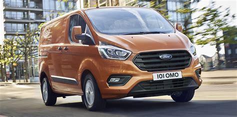Ford Transit Custom Facelift Revealed Photos