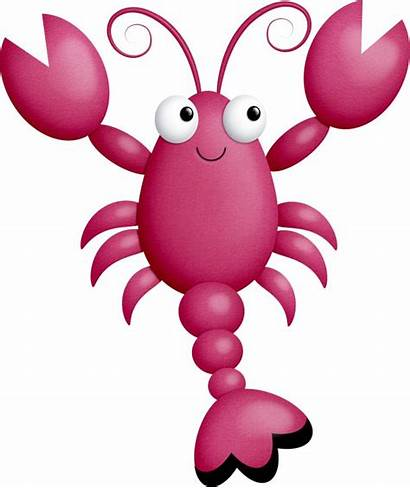 Sea Creatures Clipart Under Lobster Clip Ocean
