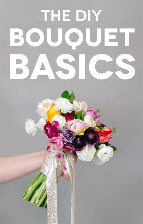 Diy Bouquet Basics For Non Pros