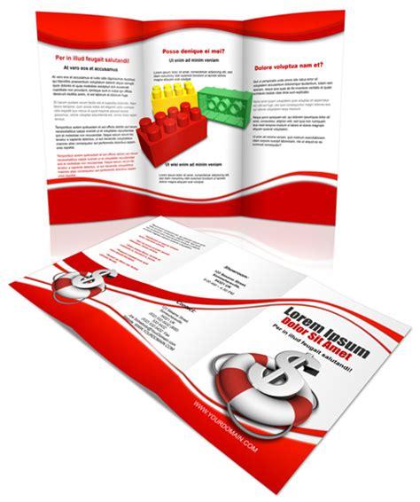 Tri Fold Brochure Template Photoshop Cs4 by Grafix Bank