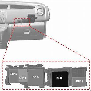 Opel Vivaro  2014 - 2018  - Fuse Box Diagram