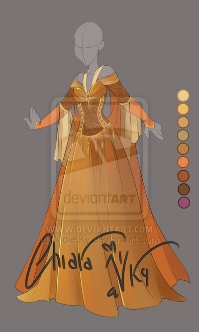 adoptable bronze outfit auction closed  violetky