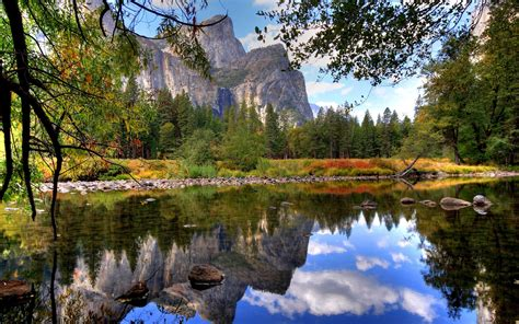 Nature Mountain Lake Wallpapers Hd Desktop And Mobile