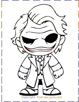baby joker coloring pages  print   printable coloring pages  kids