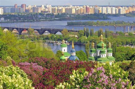 Botanischer Garten Kiew by Kiew Botanischer Garten Im Fr 252 Hling Stockfoto Colourbox
