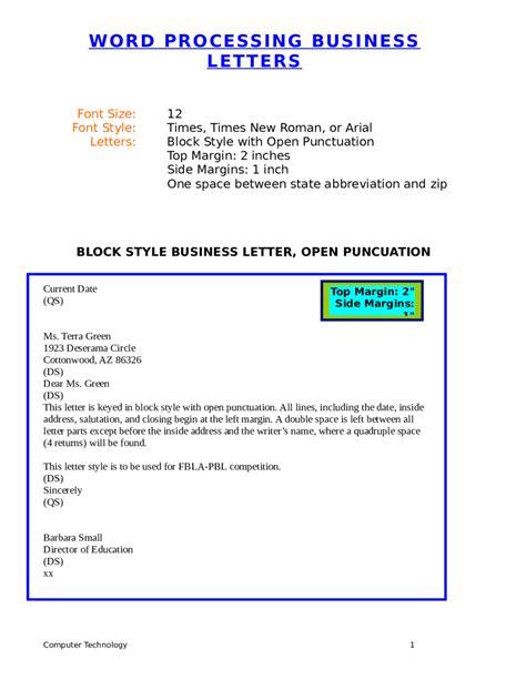 sle business letters business letter block form sle 28 images indented 38147