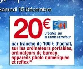 Promo Castorama 15 Par Tranche De 100 : carrefour jusqu 39 au 15 12 20 euros de bons d 39 achats par ~ Dailycaller-alerts.com Idées de Décoration