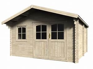 Abri De Bois : abri de jardin bois d cor jardin mod le valodrak 34 mm ~ Melissatoandfro.com Idées de Décoration