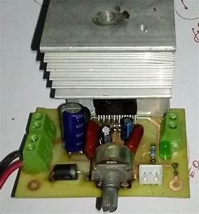 Tda7377 Amplifier Circuit  12v Stereo 30w   30w